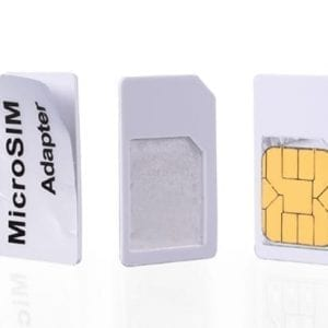 Nano sim card adapter