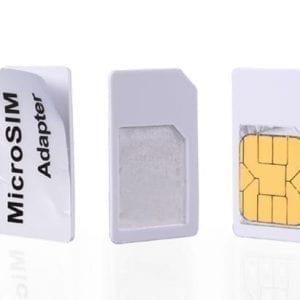 Nano sim card adapter