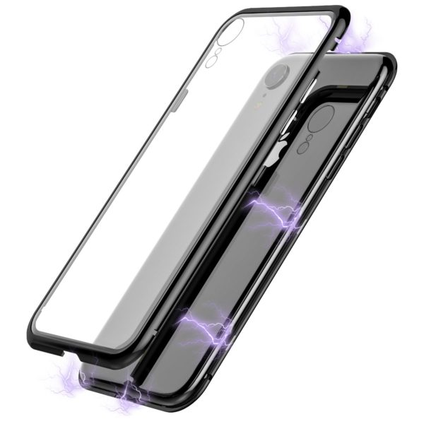 Body Glove Chrome Magnetic for Apple iPhone XR – Clear and Black
