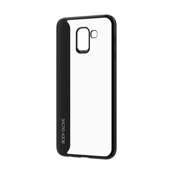Body Glove Spirit Series Case for Samsung Galaxy J6 – Black and Clear