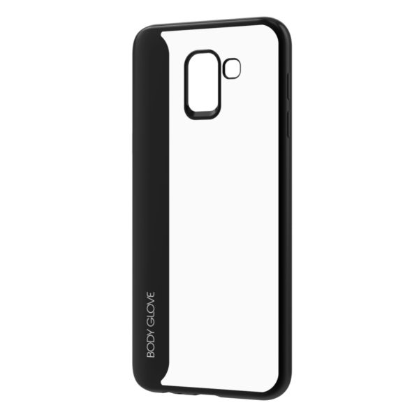 Body Glove Spirit Case for Samsung Galaxy J6+ – Black and Clear