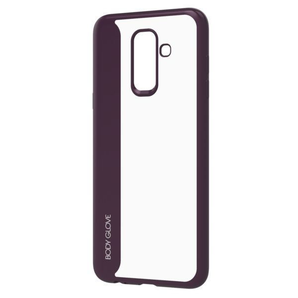 Body Glove Spirit Case for Samsung Galaxy J8 and A6+ – Purple and Clear