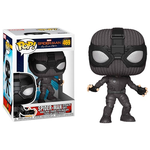 Funko Pop! Games Marvel Spiderman Far From Home – Spider-Man (Stealth Suit)
