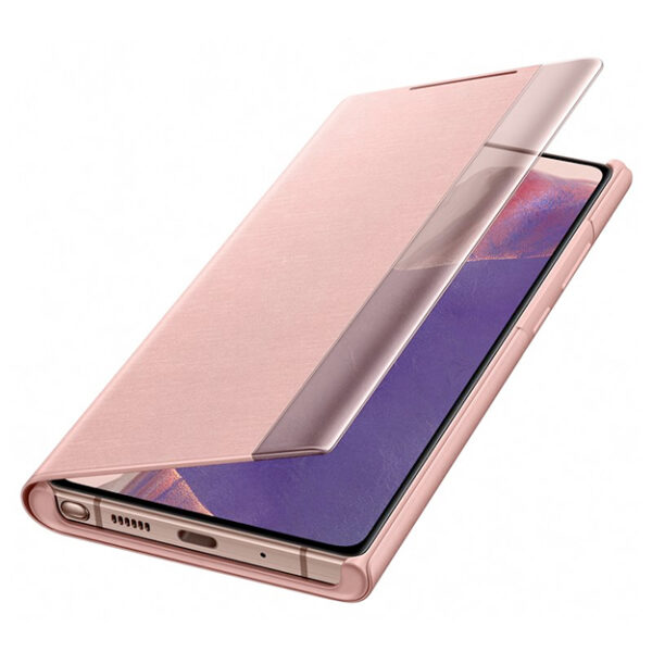 Samsung Clear View Case For Galaxy Note 20 ULTRA Bronze