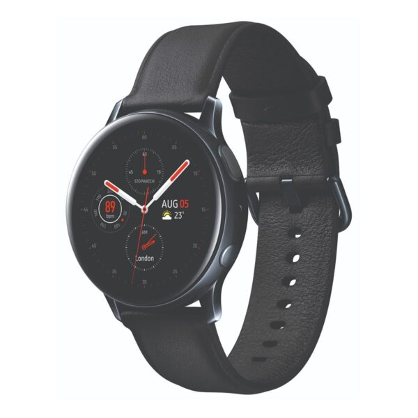 Samsung Galaxy Watch Active 2 Esim LTE 40mm Stainless Steel – Black