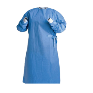 Clinic Gear Disposable Gown – Large – Blue