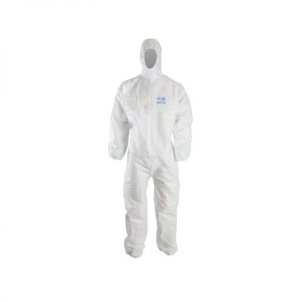 Clinic Gear Disposable Coverall Extra Large – White