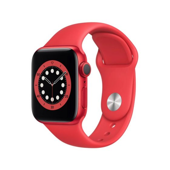 Apple Watch Series 6 GPS + Cellular 40Mm – Product(Red) Aluminium Case With Product(Red) Sport Band Regular