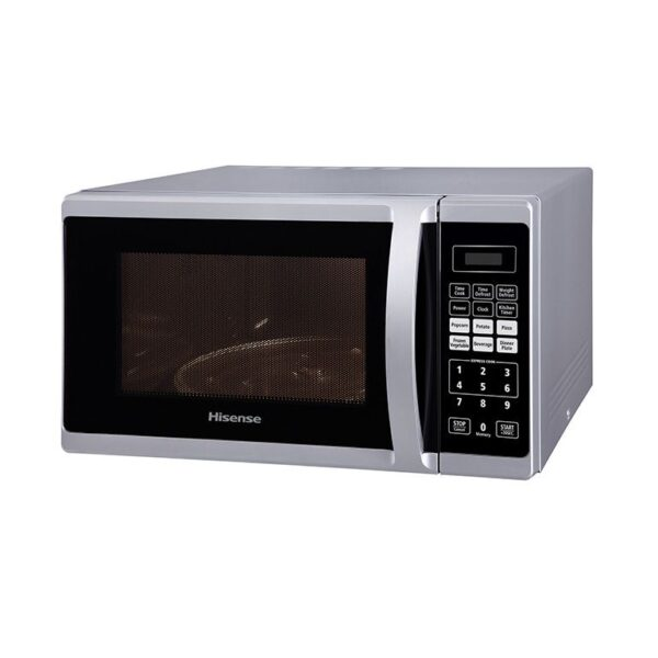 Hisense 28lt Electronic Microwave, Silver H28MOMME