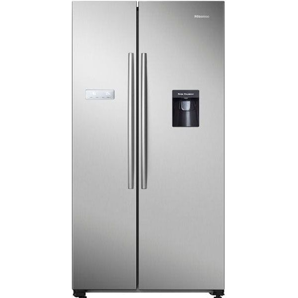 Hisense 568L Stainless Steel Side by Side Fridge – H740SS-WD