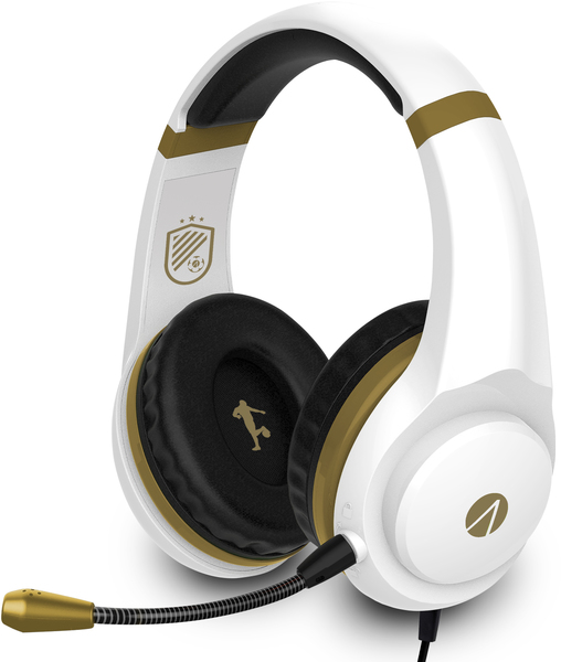 Stealth XP – Gaming Headset Bundle with Stand – White/Gold (PC/Gaming)