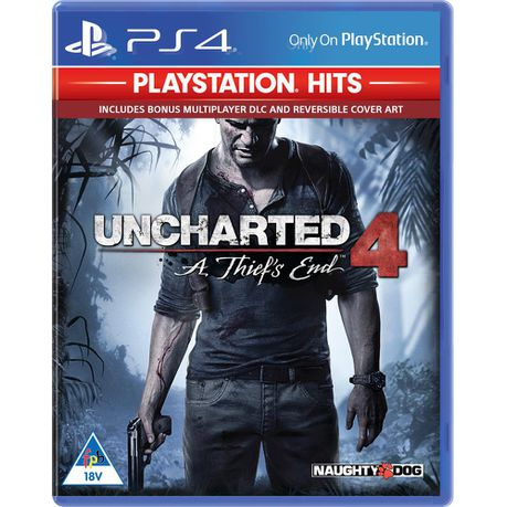 Uncharted 4: A Thief's End – PlayStation Hits (PS4)