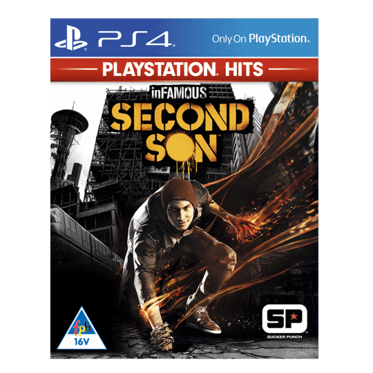 inFAMOUS Second Son – PlayStation Hits (PS4)