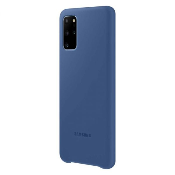 Samsung Galaxy S20+ Silicone Cover – Navy Blue