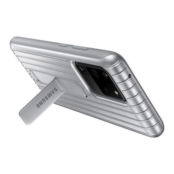Samsung Galaxy S20 Ultra Protective Cover – Silver