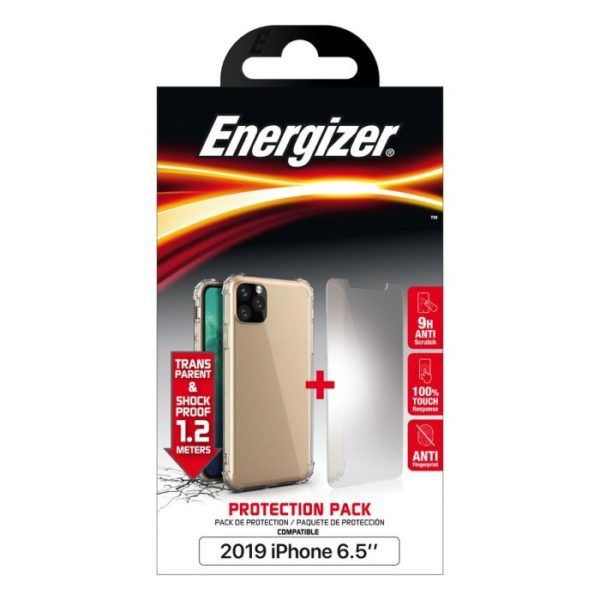 Energizer Apple iPhone 11 Pro Max (6.5) Protection Pack