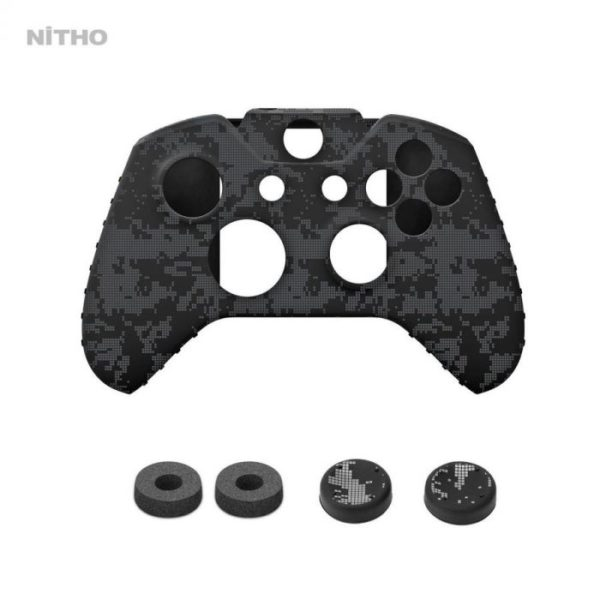 Nitho XB1 Gaming Kit Set of Enhancers for Xbox One Controllers – Camo