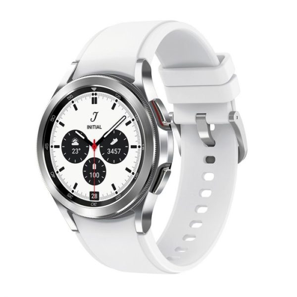 Samsung Galaxy Watch4 Classic 42mm Stainless Steel LTE – Silver